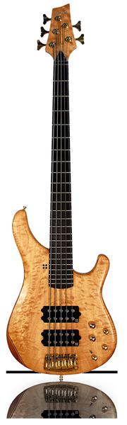 image of sandberg bass Basic bass in brown