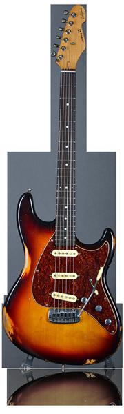 image of sandberg guitar California STS guitar in brown
