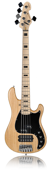 image of sandberg bass California V bass in brown