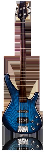 image of sandbrg bass Classic bass in blueburst