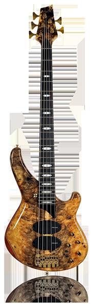 image of sandberg bass Custom bass in brown