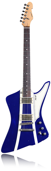 image of sandberg guitar Forty Eight Guitar in purple