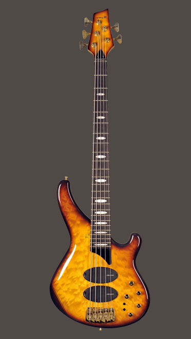 image of Sandberg bass custom SP